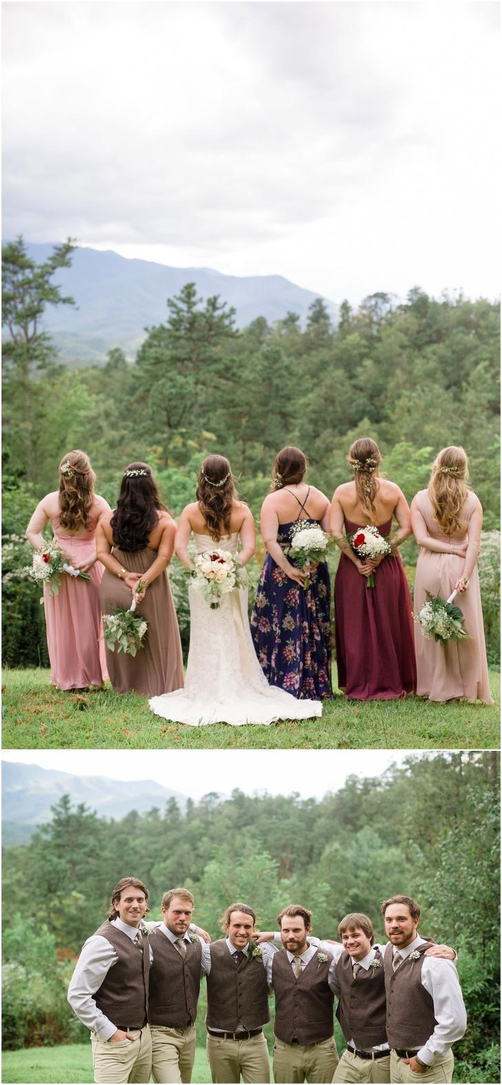 Smoky Mountain wedding photo