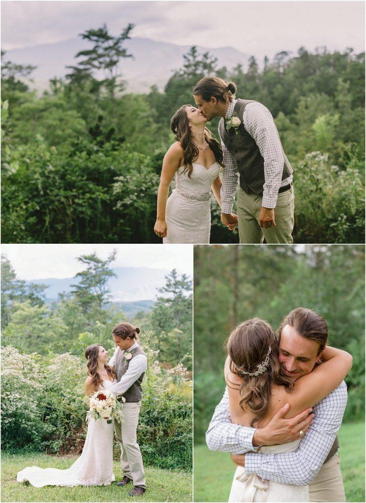 smoky mountain wedding photography by JoPhoto