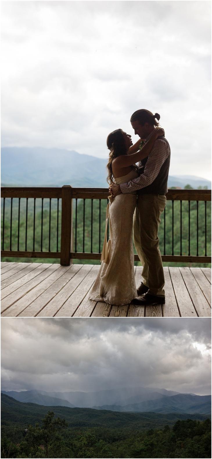 smoky mountain weddings at Gatlinburg Mansion