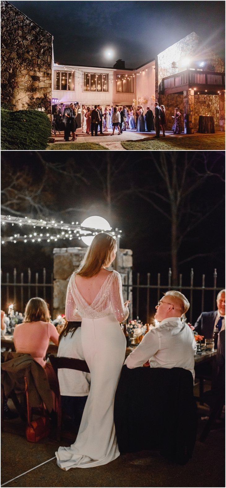 Knoxville wedding reception at Gallaher Bend