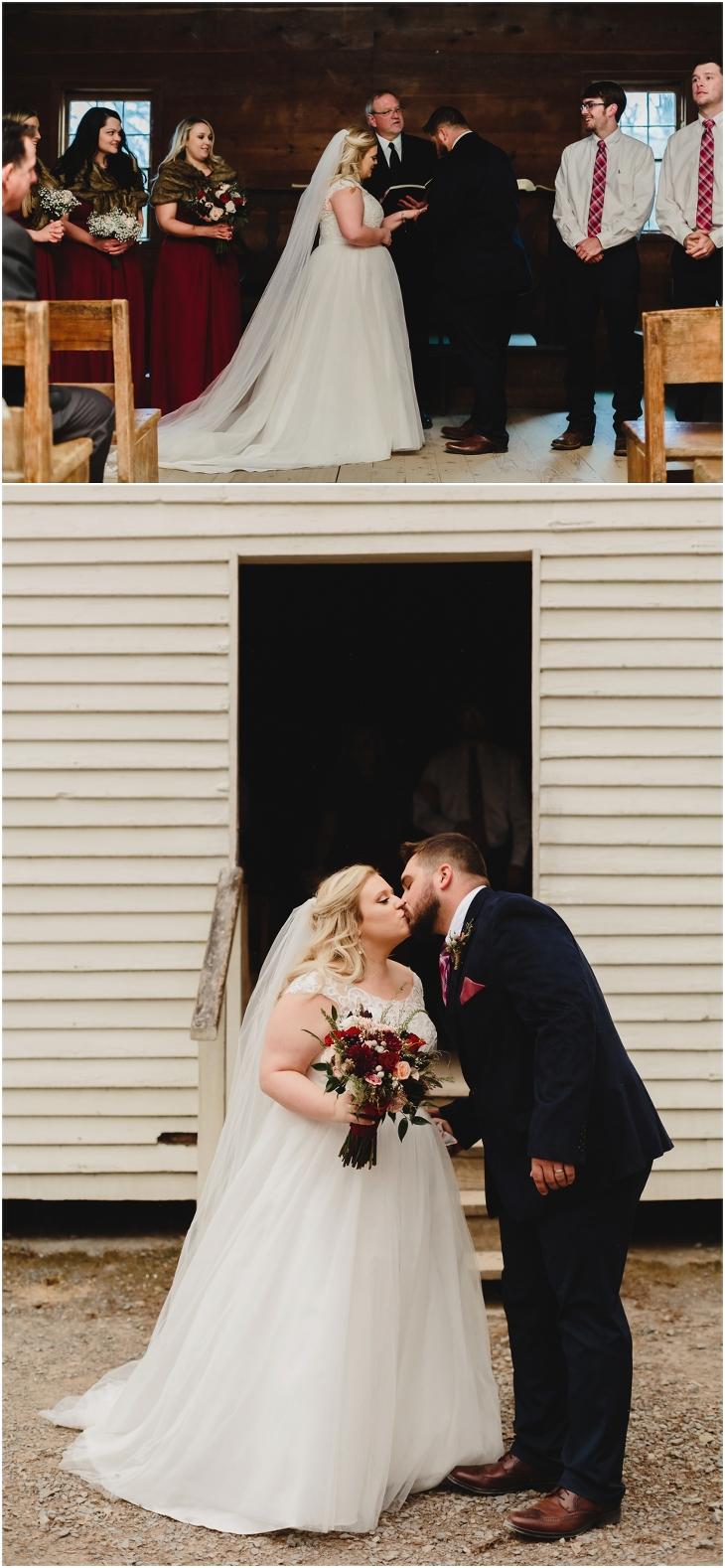 cades cove baptist church wedding
