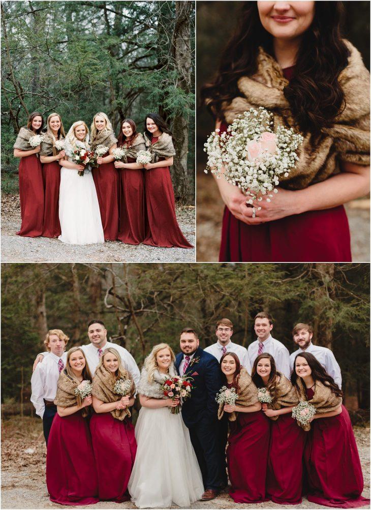 cades cove winter weddings
