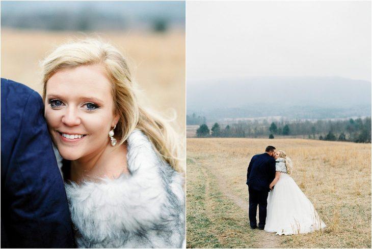 great smoky mountains winter weddings
