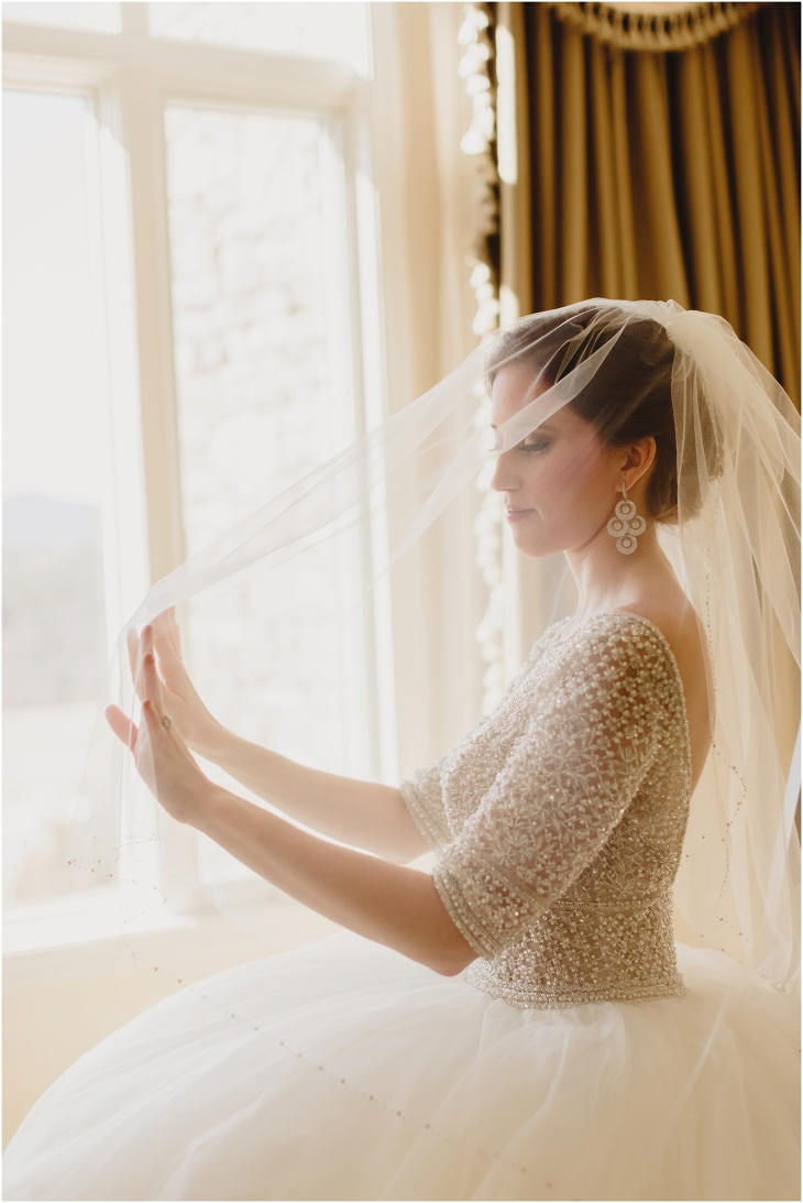Biltmore Estate bridal photo