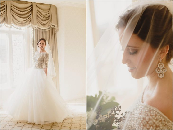 Biltmore Estate bridal photos
