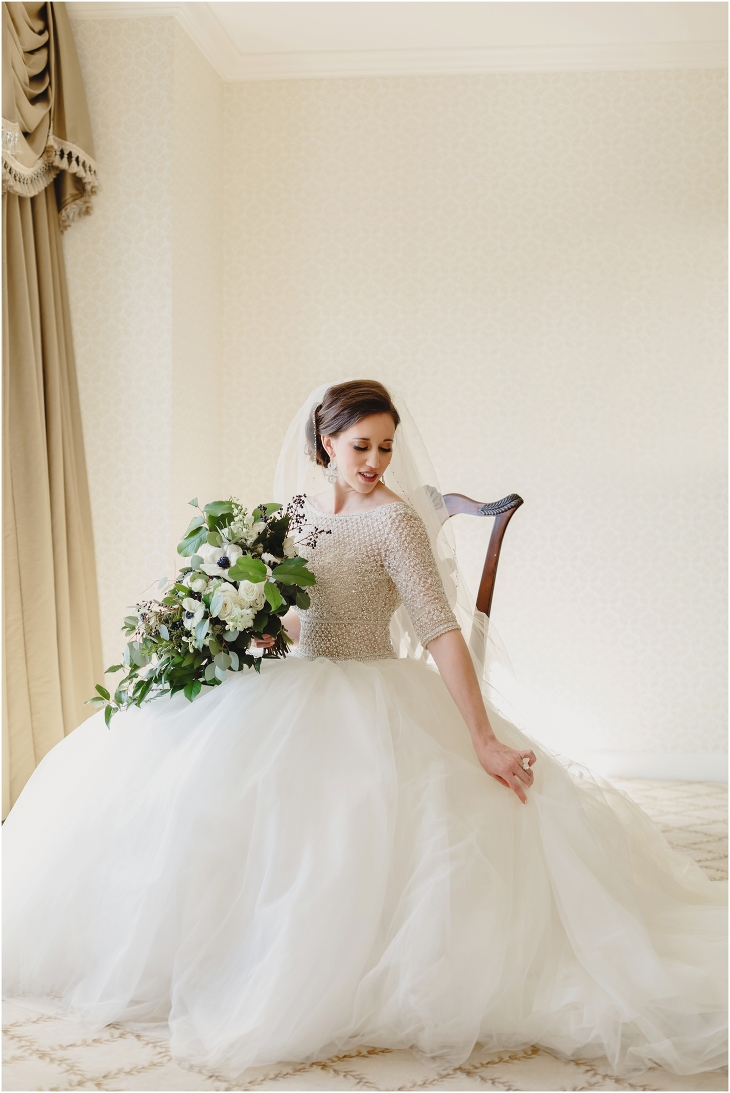 Biltmore Estate bridal pictures