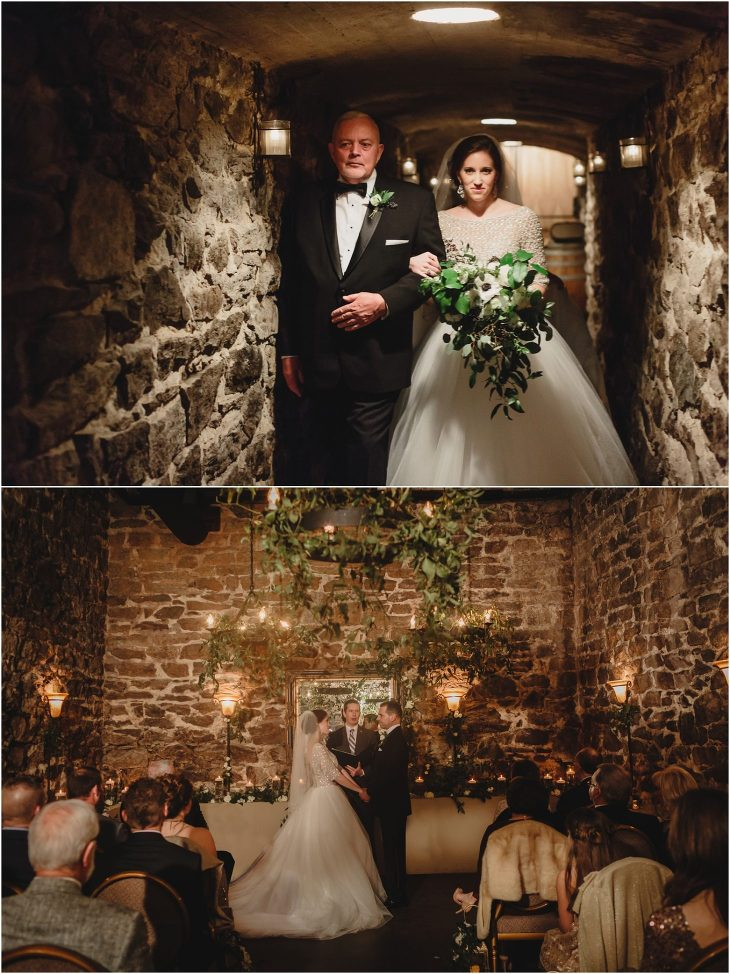 Biltmore Wedding in the Champagne Cellar