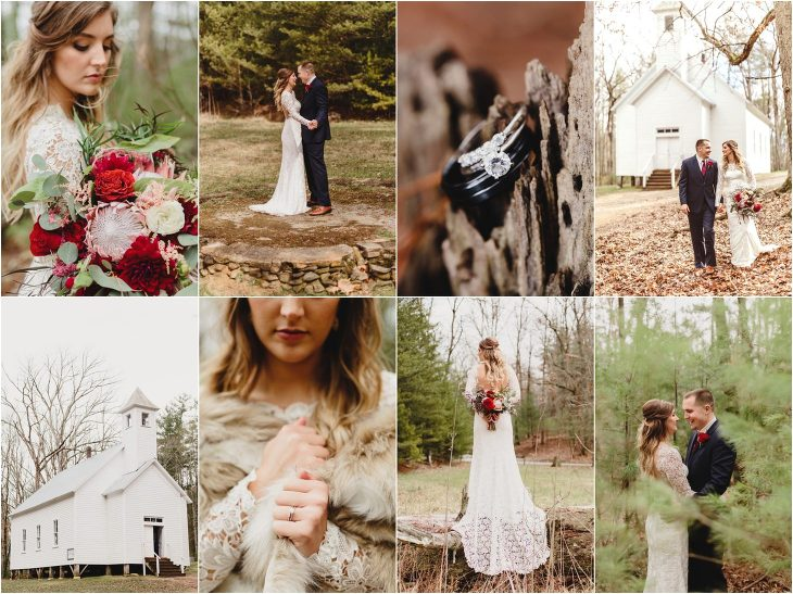 Cades Cove Wedding in the Great Smoky Mountains National Park