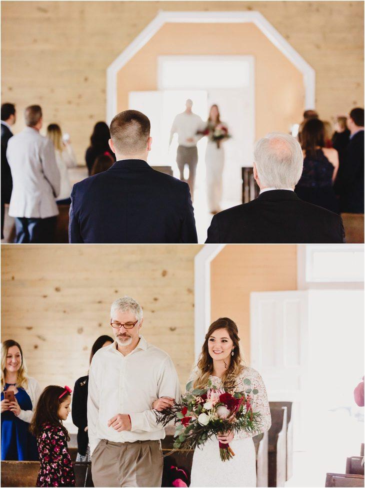 Cades Cove wedding photos - Missionary Baptist Church