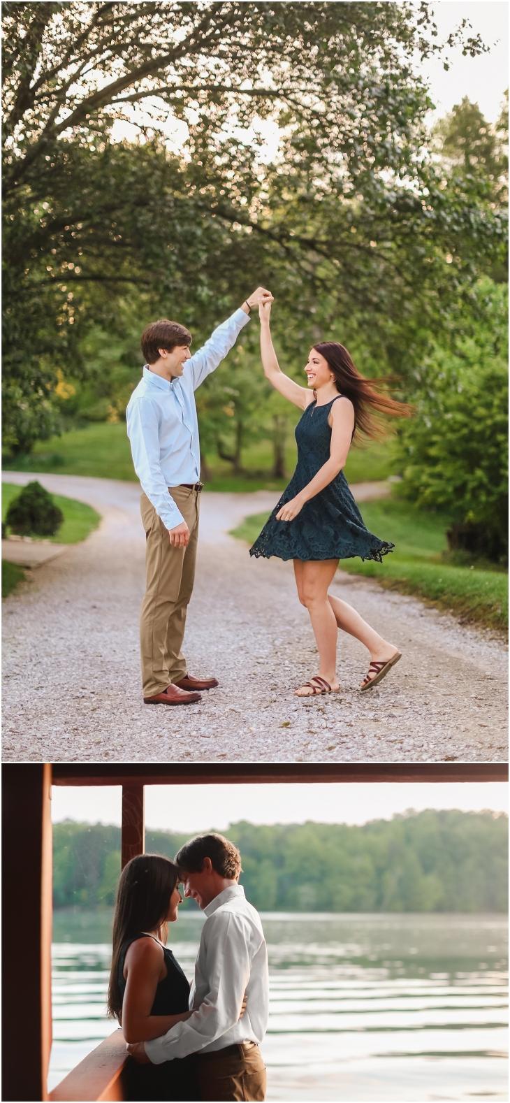 Gallaher Bend engagement Photos