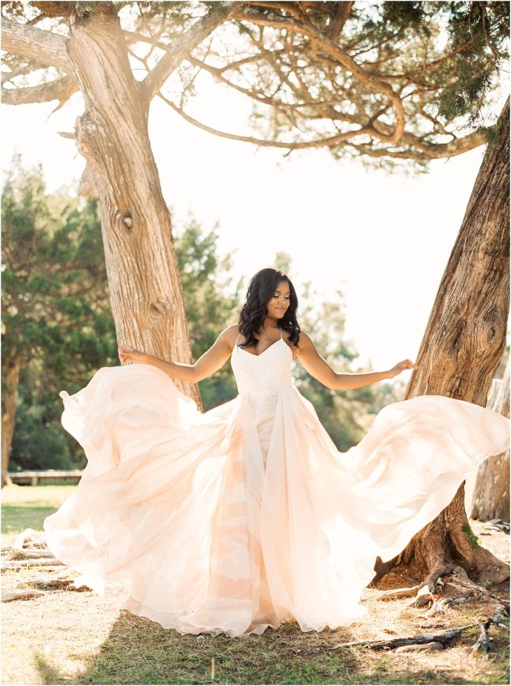 Lovely Bride wedding Gown at Atlaya Castle