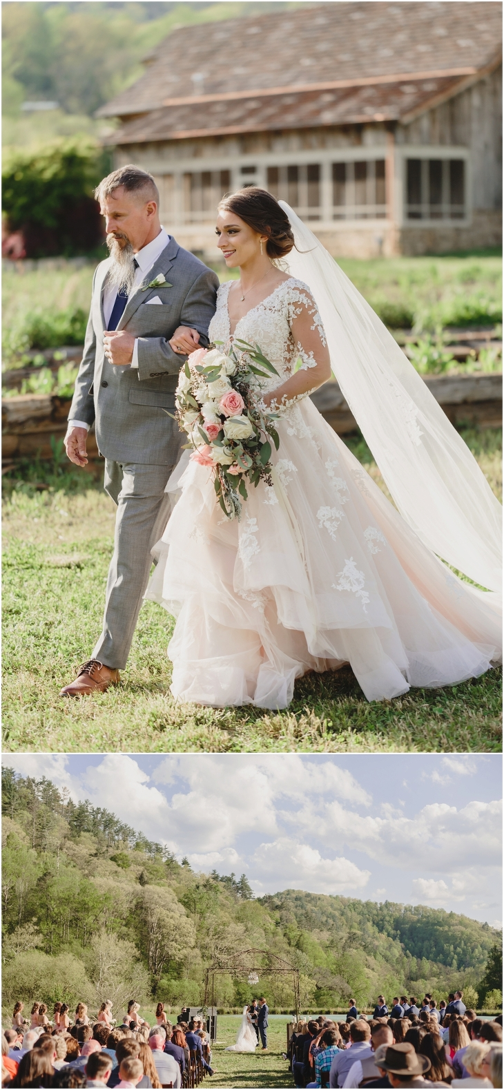 great smoky mountains wedding at Pure Water Farm