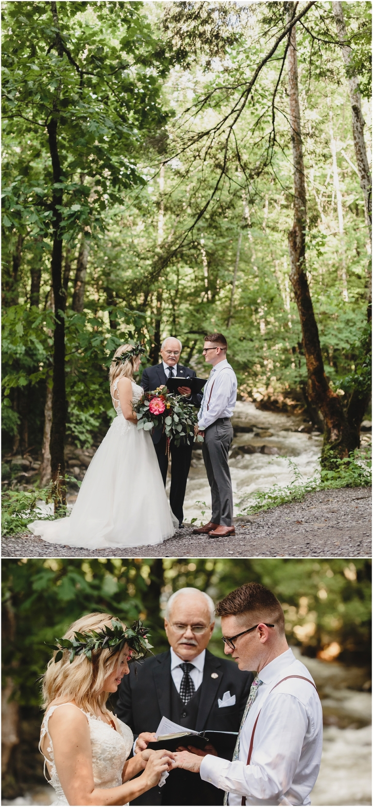 Smoky Mountain Wedding Greenbrier
