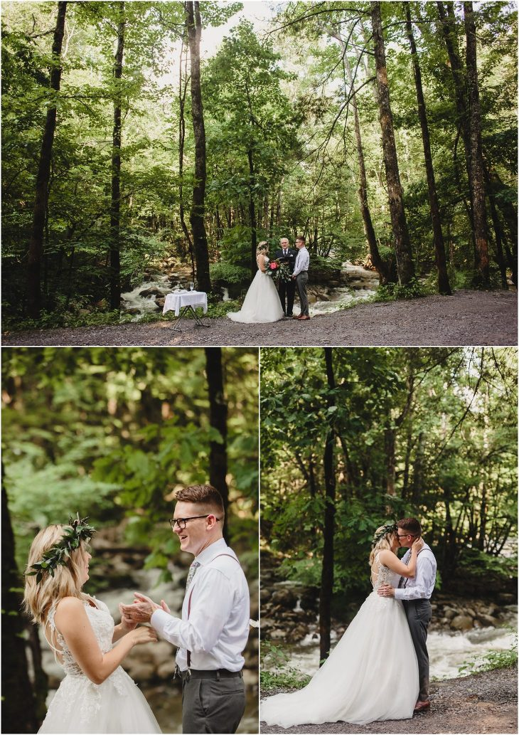 smoky mountains national park wedding at Greenbrier