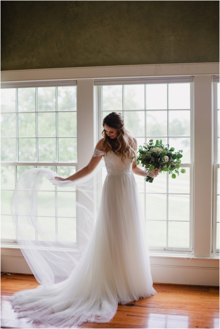 bride at marblegate farm knoxville