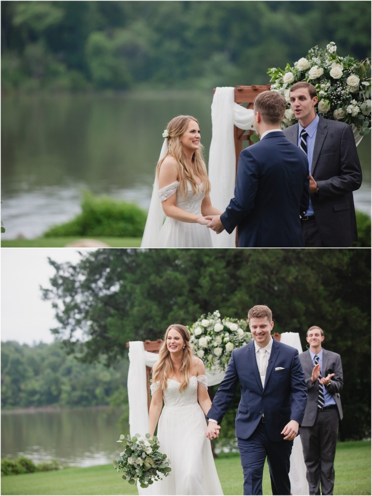 knoxville wedding ceremony at Marblegate Farm