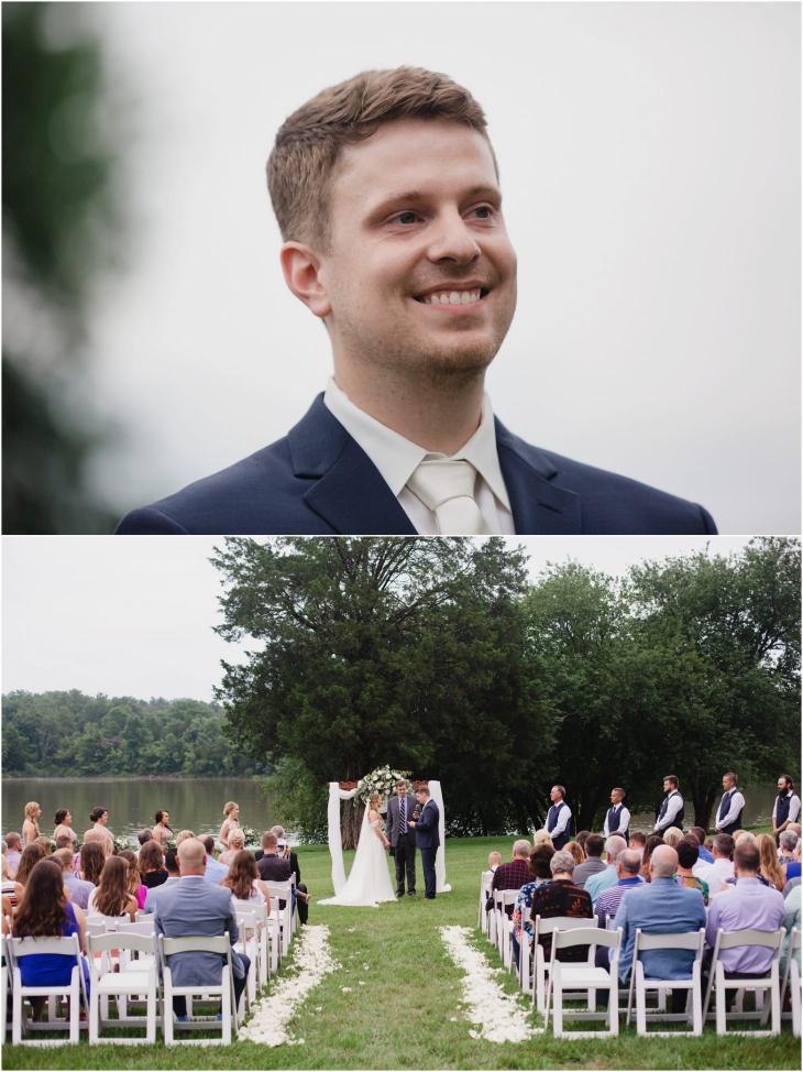 marblegate farm Wedding Ceremony