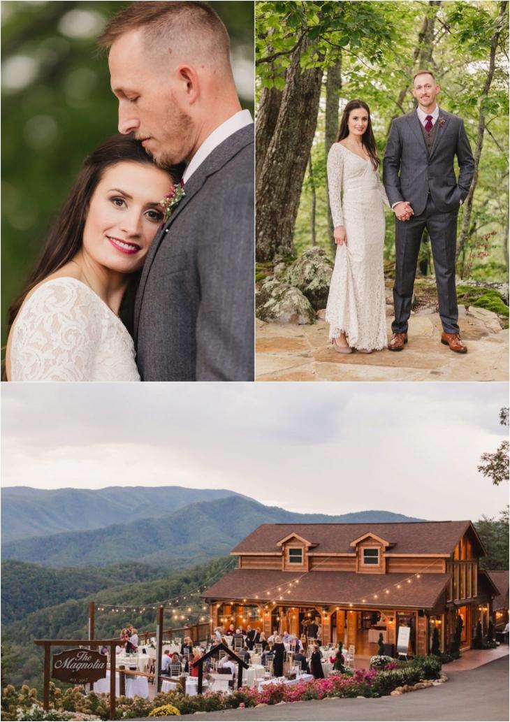 The Magnolia Wedding Couple