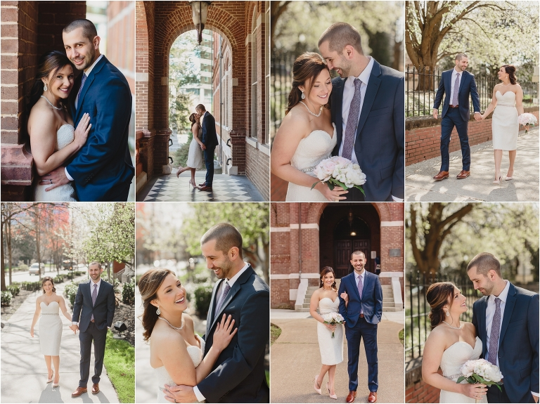Knoxville courthouse wedding elopement
