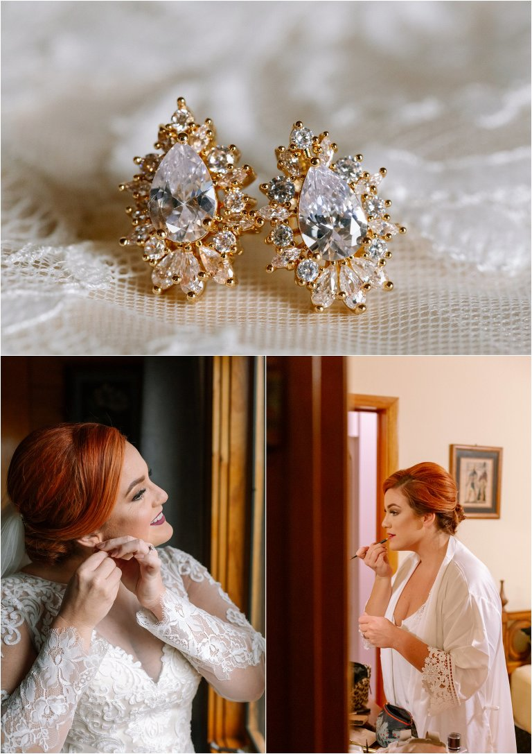 Storybrook farm wedding earrings
