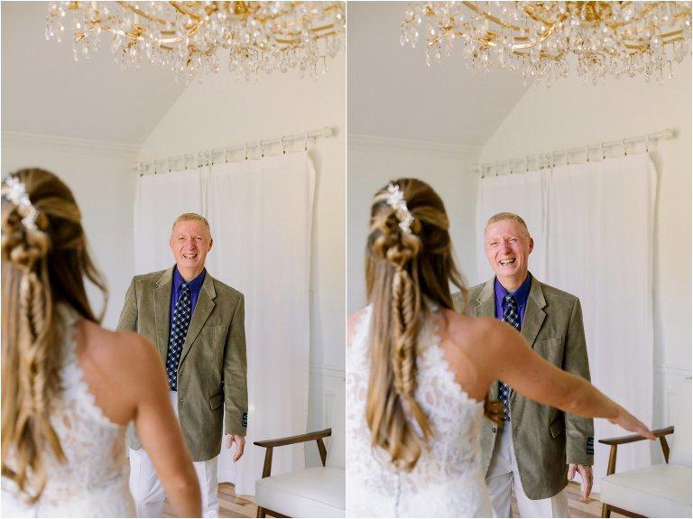 Gallaher Bend Wedding Bride