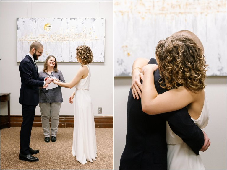 knoxville courthouse elopement ceremony