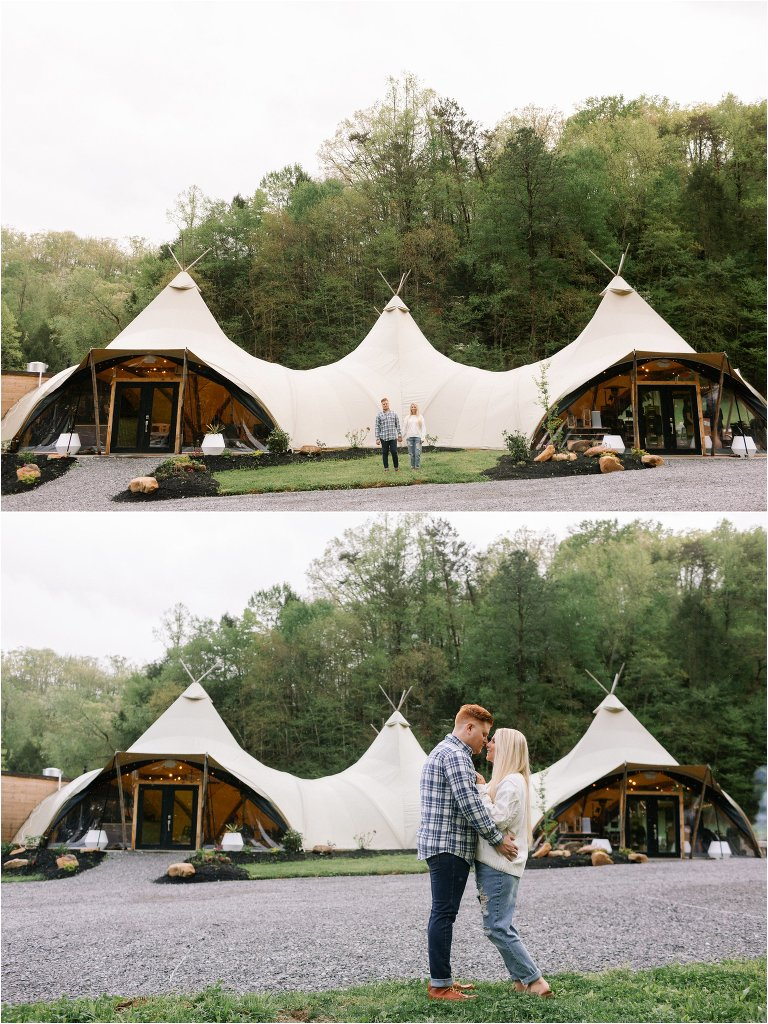 Under Canvas Glamping in the Smoky Mountains