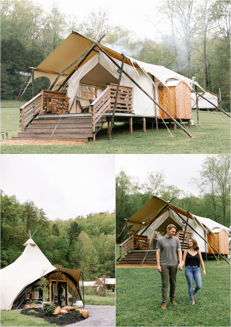 Under Canvas Great Smoky Mountains Glamping