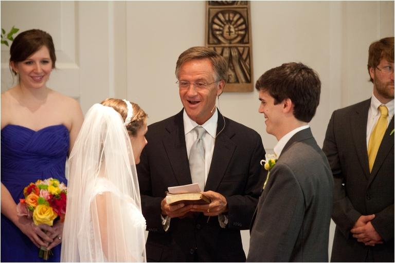 Governor Haslam Officiating a Wedding