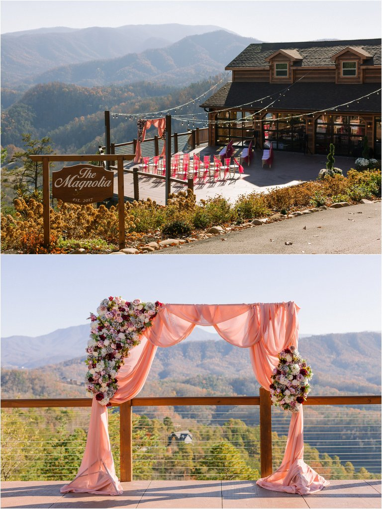 Smoky Mountains Fall Wedding