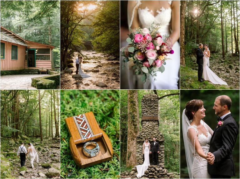Spence Cabin Wedding In The Smokies