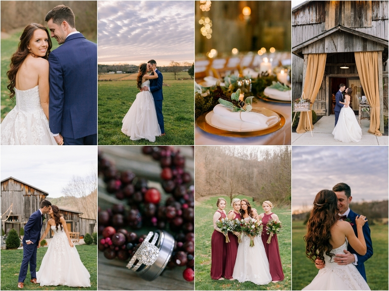 Barn at chestnut springs wedding