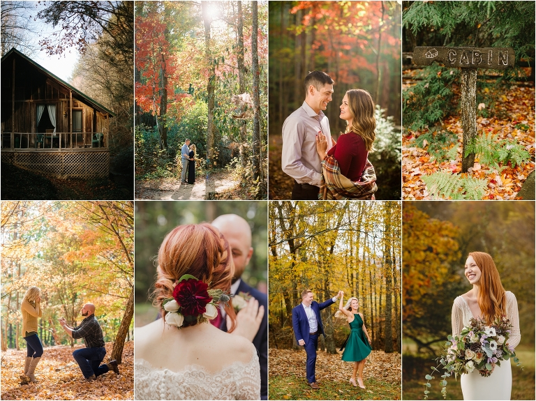 Best Time for fall Weddings in the Smokies