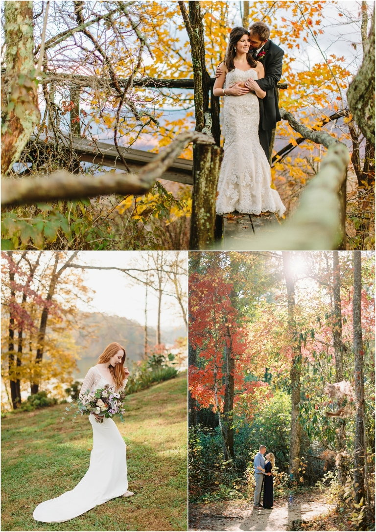 Smoky Mountain Fall Wedding