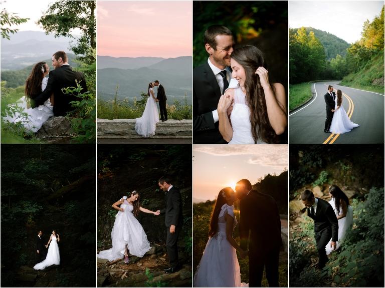 Foothills parkway wedding