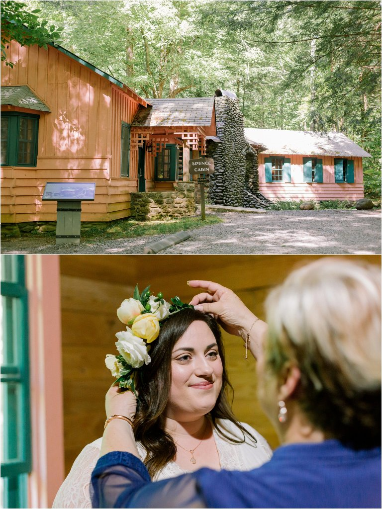 spence cabin Gatlinburg tn wedding
