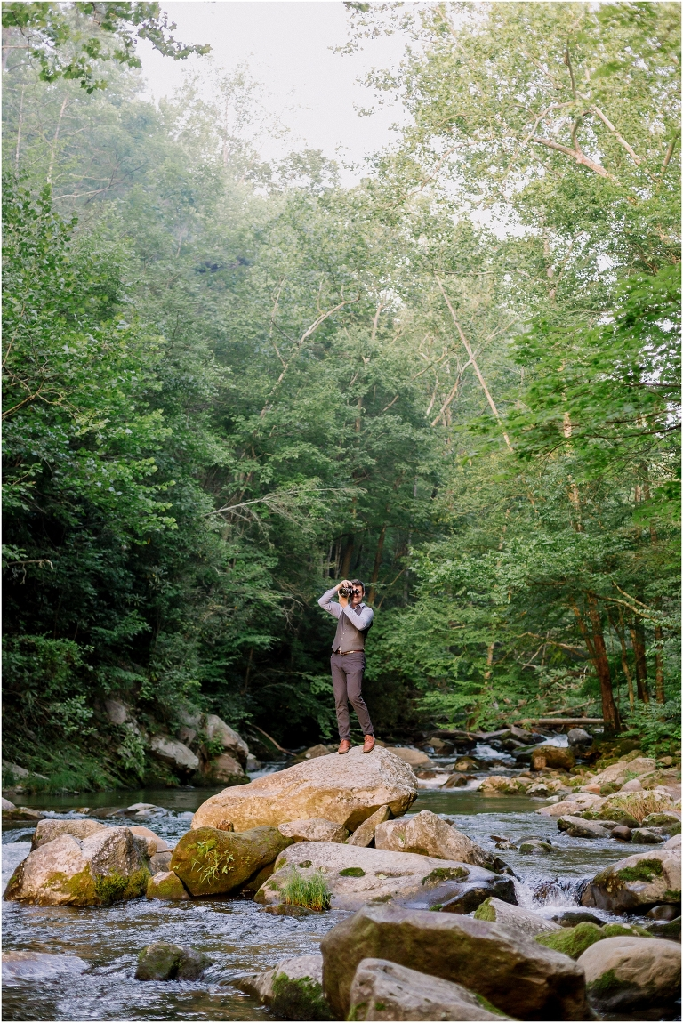 Smoky mountain wedding photographer