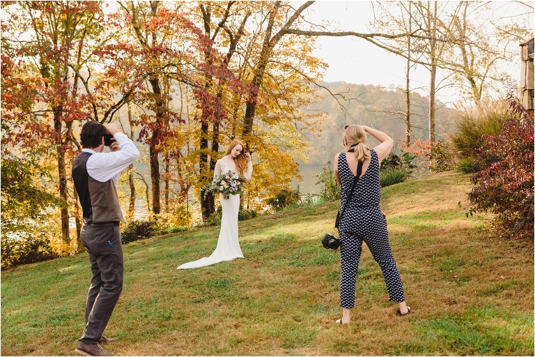 Smoky mountain wedding photographers