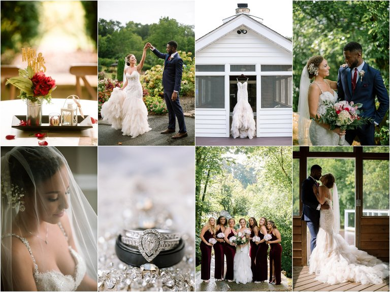 daras garden knoxville wedding summer