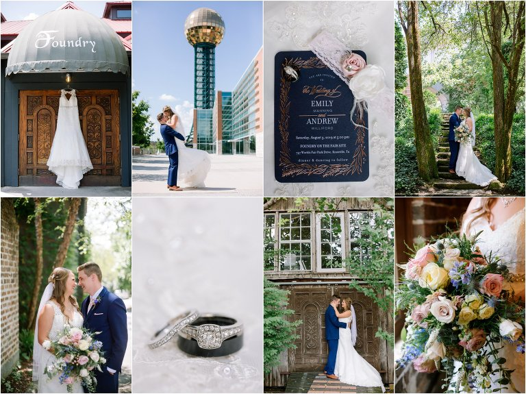 the foundry wedding photos knoxville