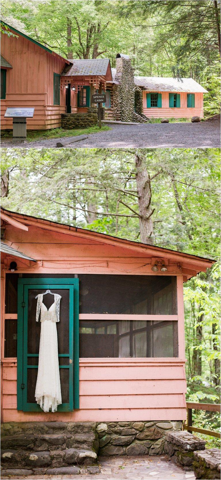spence cabin Gatlinburg wedding