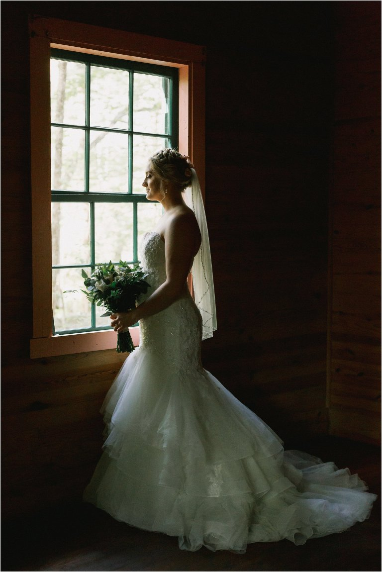 mountain bridal photos