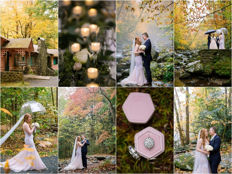 Spence Cabin Gatlinburg Wedding Tennessee