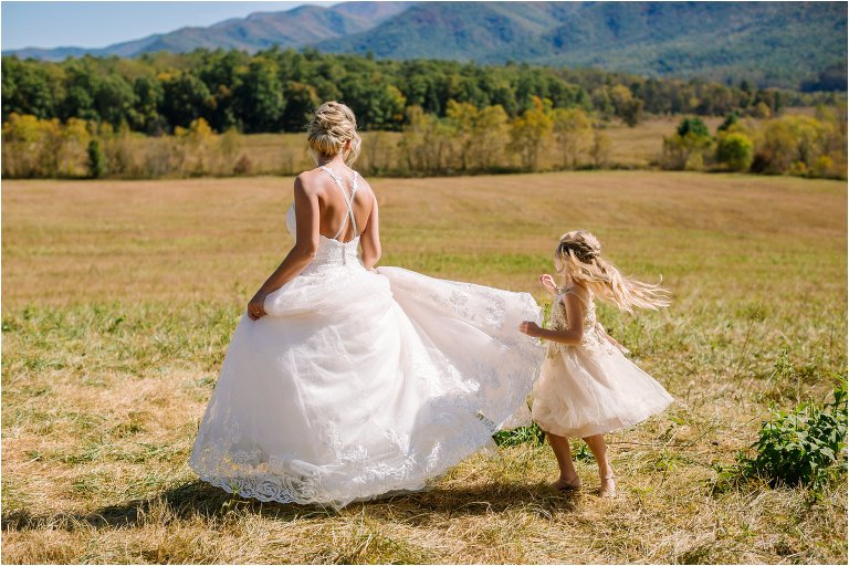 cades cove wedding photos