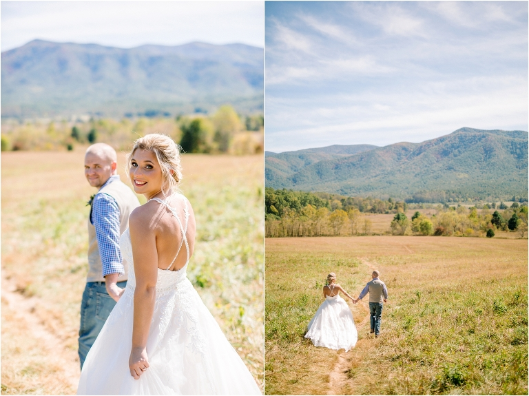 cades cove wildlife overlook weddings