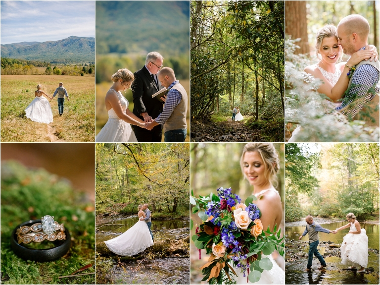 Cades Cove Wildlife Overlook Wedding