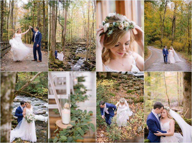 gatlinburg greenbrier wedding photography