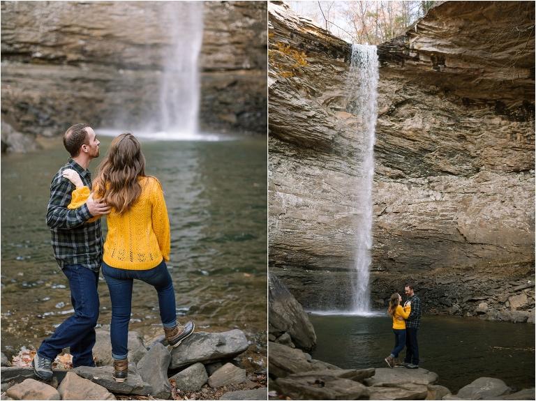 Ozone falls waterfalls