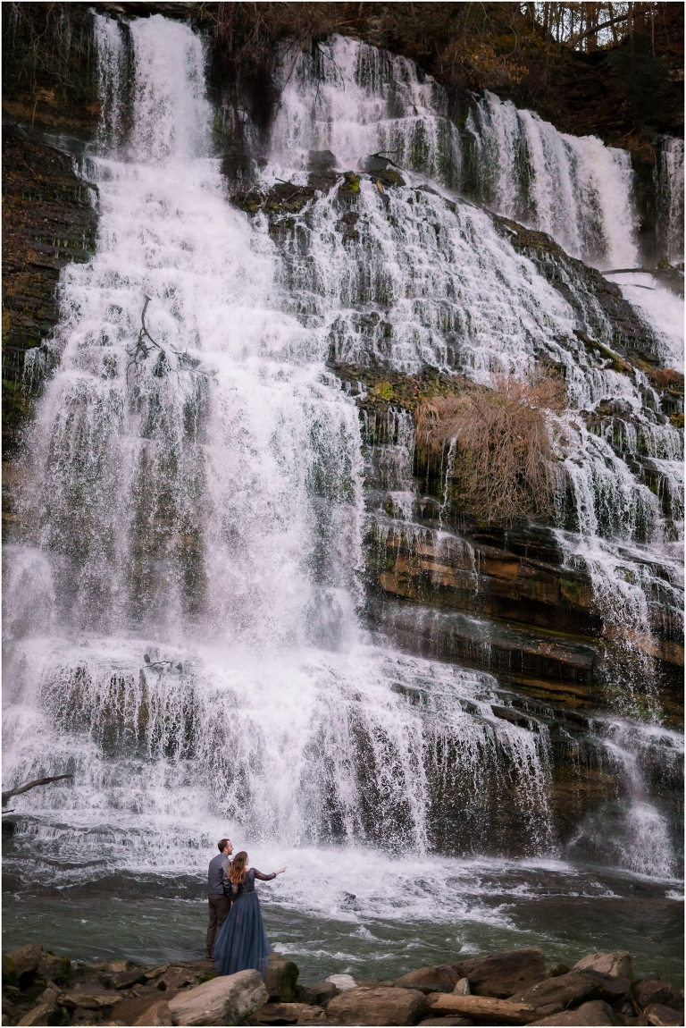 Waterfall Weddings at Rock Island State Park