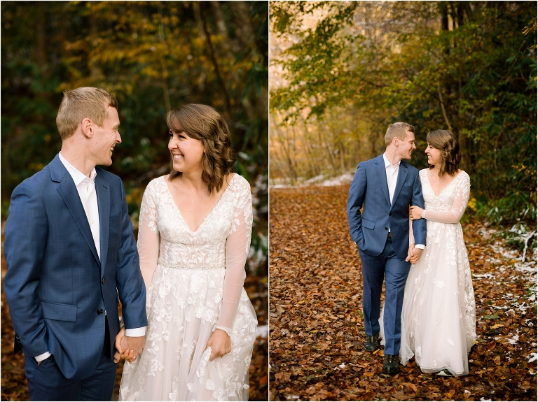 Wedding in the Great Smoky Mountains National Park